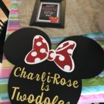 Kids Party - Mini Mouse Sign
